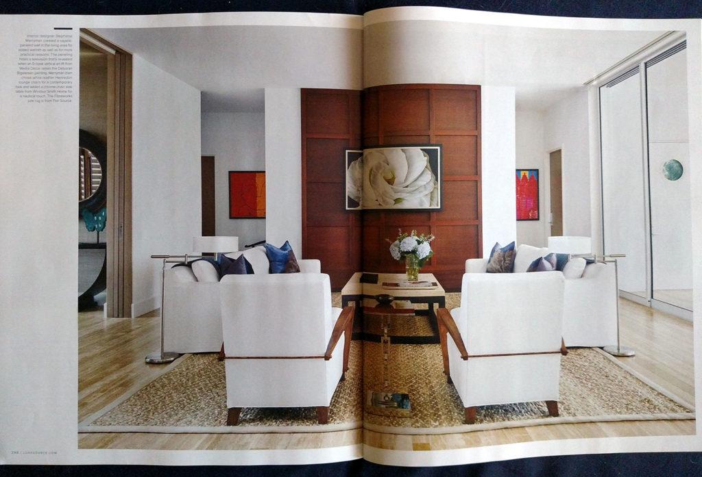 LUXE Magazine featuring Deborah Bigeleisen