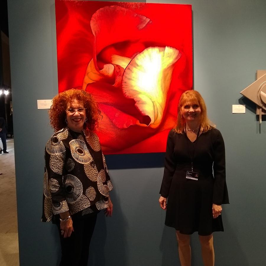 Deborah Bigeleisen with Deborah Pollack Fine Art